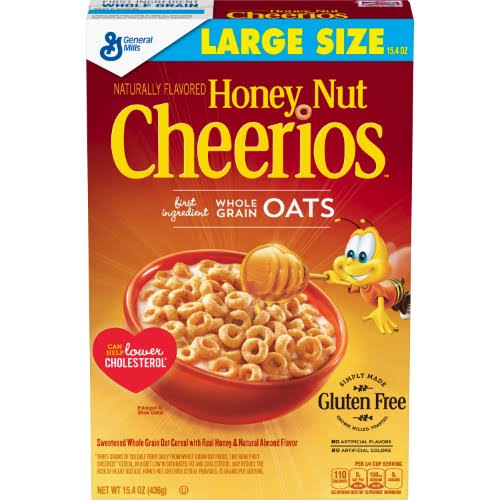 General Mills Cheerios Honey Nut Breakfast Cereal - 15.4oz
