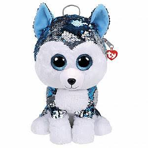 Ty Slush The Husky Sequin Backpack