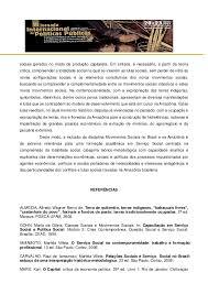 amazonia si e social movimentos sociais e serviço social