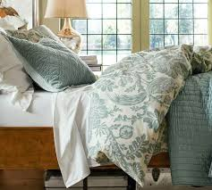 Pottery Barn Master Bedroom by For Master Bedroom Arista Palampore Rustic Luxe Bedding