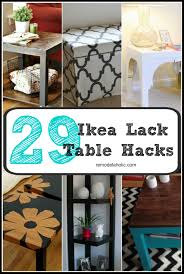 Used Ikea Lack Sofa Table by From Bargain To Beautiful 29 Stylish Ikea Lack Table Hacks