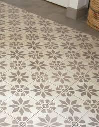 carrelage imitation carreaux de ciment idée cuisine
