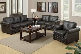 Poundex 3pc Sectional Sofa Set by Espresso Sofa Set By Poundex F7780 Huntington Beach Furniture