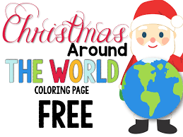 Christmas Around The World Book List Freebie