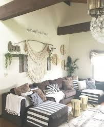 Brown Living Room Decorating Ideas by Boho Rustic Glam Living Room Cozy Little Space Pinterest