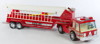 Lot 4063: Nylint Aerial Hook-n-Ladder Fire Truck   Leonard Auction ... Vintage Nylint True Value Hdware Semi Toy Truck Trailer Pressed Harleydavidson Motor Oil Tanker Truck Repurposed Box Garage Scolhouse Toys Steel Trucks Hakes Cadet Camper And Pickup Boxed Pair Nylint Hash Tags Deskgram Nylint Safari Hunt Metal With Virtu Acquisition Ford 9000 Dump Youtube Hydraulic Vintage Findz Page 2 Hisstankcom Hobbies Manufacture Find Products Online At