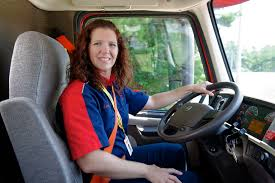 Saia Driver Leah Evans Discusses Her Life As A Female Truck Driver ... Its Been A Long Road But Im Happy To Be An Hgv Refugee Syrian Lady Driver In Big Truck On The Banked Track At Trc Youtube Women In Trucking Association Announces Its December 2017 Member Bengalurus First Female Garbage Truck Motsports Posed As Car Salesgirl And Shows Male Woman Stock Photos Royalty Free Pictures Driver Filling Up Petrol Tank Gas Station Is Symbol Of Power Cvr News Lisa Kelly A Cutest The Revolutionary Routine Of Life As Trucker Truckers Network Replay Archives Truckerdesiree