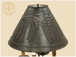 Diy Punched Tin Lamp Shade by Metal Lamp Shades Better Lamps