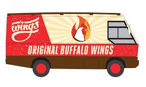 100 Buffalo Food Trucks Brand Development Creative Logo Design