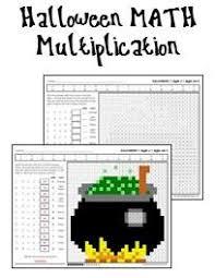Halloween Multiplication Worksheets Coloring by Halloween Math Worksheets Printables U0026 Worksheets