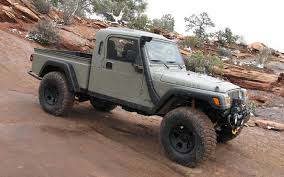 Jeep Wrangler Truck Conversion By AEV, Called The
