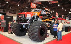 Bigfoot Electric Monster Truck Front Three Quarters 2 ... Traxxas Xmaxx 16 Rtr Electric Monster Truck Wvxl8s Tsm Red Bigfoot 124 Rc 24ghz Dominator Shredder Scale 4wd Brushless Amazing Hsp 94186 Pro 116 Power Off Road 110 Car Lipo Battery Wltoys A979 24g 118 For High Speed Mtruck 70kmh Car Kits Electric Monster Trucks Remote Control Redcat Trmt10e S Racing Landslide Xte 18 W Dual 4000 Earthquake 8e Reely Core Brushed Xs Model Car Truck
