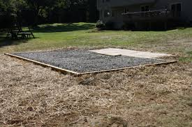 Cheap Shed Base Ideas by How To Prepare Your Gravel Shed Pad Sheds Unlimited
