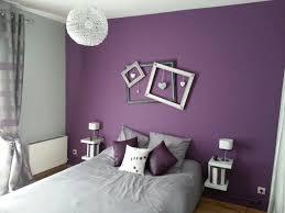 chambre couleur prune et gris décoration de chambre avec couleur prune déco