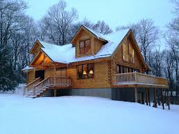 Seven Springs PA Cabin Rental Brand New Log Cabin