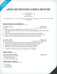 Army Resume Example Resumes Builder Military Sample New Civilian Sales Configuration Management Foreign