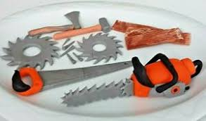 details zu geburtstag mann opa deko torte kuchen werkzeug handwerker tortenaufleger fondant