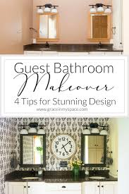 Guest Bathroom Makeover Ideas | Grace In My Space Powder Room Remodel Ideas Awesome Bathroom Chic Cheap Makeover Hgtv 47 Adorable Deratrendcom Pictures Of Small Remodels Hower Lavish To Jazz Up Your Bath Area 30 Best You Must Have A Look Guest Grace In My Space 50 Luxury On Budget Crunchhome Can Diy Projects 47things Wont Like About And Makeovers Interior Design Indian Designs 28 Friendly For 2019