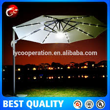 Solar Lighted Patio Umbrella by Appealing Solar Lighted Patio Umbrella Roma Umbrella Roma Umbrella