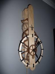 wooden gear clock plans free download