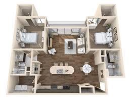 3 D Floor Plans Modern On Intended Plan Imaging 3D 28