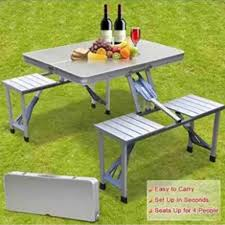 Outdoor Aluminum Portable Folding Camp Suitcase Picnic Table With 4 Seats  (Silver) Best Balcony Fniture Ideas For Small Spaces Garden Tasures Greenway 5piece Steel Frame Patio 21 Beach Chairs 2019 The Strategist New York Magazine Tables At Lowescom Sportsman Folding Camping With Side Table Set Of 2 Garden Fniture Ldon Evening Standard Diy Modern Outdoor Inspired Workshop Easy Kids And Chair Set Free Plans Anikas Kitchen Ding For Glesina Fast Table Chair Inglesina Usa Buy Price Online Lazadacomph