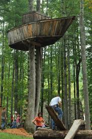 Tree Fort Ideas For Lake...hubby Wanted A Boat For Our Lot ... Simple Diy Backyard Forts The Latest Home Decor Ideas Best 25 Fort Ideas On Pinterest Diy Tree House Wooden 12 Free Playhouse Plans The Kids Will Love Backyards Cozy Fort Wood Apollo Redwood Swingset And Gallery Pinteres Mesmerizing Rock Wall A 122 Pete Nelsons Tree Houses Let Homeowners Live High Life Shed Combination Playhouse Plans With Easy To Pergola Design Awesome Rustic Pergola Screen Easy Backyard Designs