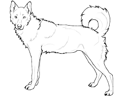 Realistic Husky Coloring Pages Free Printable Football Cute Best 1024
