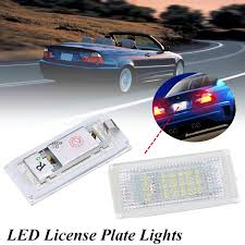 Detail Feedback Questions About Canbus LED Car Led License Plate Led