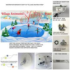 Lemax Halloween Village Ebay by Department 56 Village Animated Skating Pond Replacement Motor