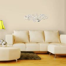 2017 New Wall Sticker Acrylic 3d Stickers Decor Vintage Home Mirror Diy Modern Living Room Free Shipping In From