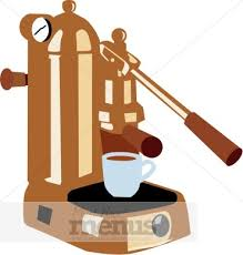 Espresso Coffee Machine Clipart
