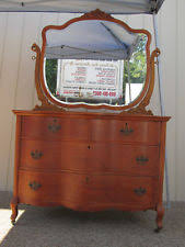 Antique Birdseye Maple Dresser Value by Maple Original Antique Dressers U0026 Vanities 1900 1950 Ebay
