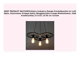 discount baycheer retro industry design pendelleuchte im