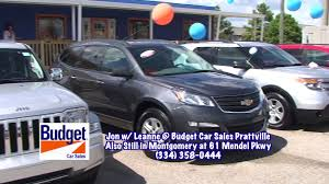 Budget Car Sales Is NOW IN PRATTVILLE! - YouTube