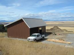 Metal 40x60 Homes Floor Plans by Outdoor Alluring Pole Barn With Living Quarters For Your Home