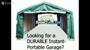 Menards Temporary Storage Sheds by Amazon Instant Garages Portable Carports Youtube