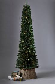 Pre Lit Pencil Slim Christmas Trees by Pre Lit Slimline Christmas Tree Rainforest Islands Ferry