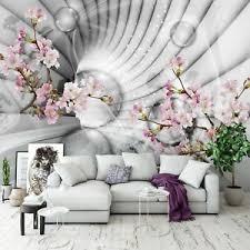 vlies fototapete 3d effekt blumen orchidee tunnel kunst
