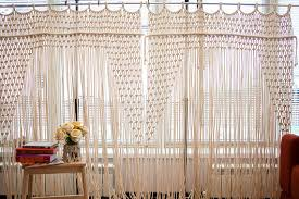 Macrame Curtain Macrame Door Curtain Macrame Wedding