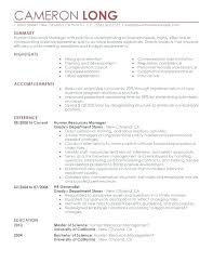 Human Resources Career Change Resume Example Job Description For And Specification In This Is A Collection