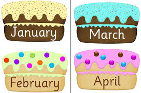 Cupcake clipart monthly 10