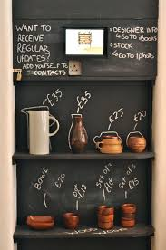 Might Be A Fun Display If You Serve Coffee With S M L Design Storey Forest London Blackboard Paint Can Go Long Way