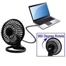 plastique mini ventilateur de bureau usb rotation de 360 degrés