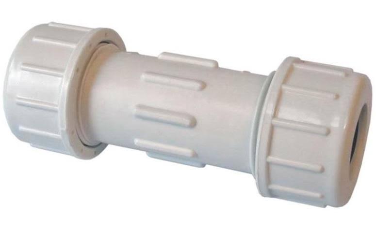 American Valve PVC Compression Coupling - 1/2""
