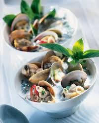 comment cuisiner des palourdes recette nage de palourdes à la thaï