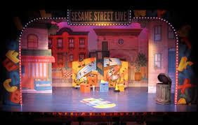 Sesame Street A Magical Halloween Adventure Credits by Sesame Street Live Scenetec Scenetec Niteskool Set Design