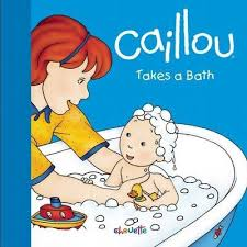 caillou in the bathtub caillou wiki fandom powered by wikia