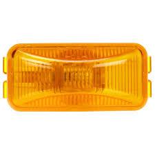 100 Truck Lite 15 Series Incandescent Yellow Rectangular 1 Bulb Marker