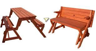 folding bench table plans diy free download interlocking